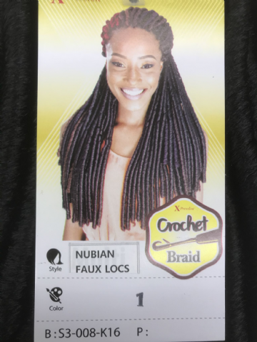 XPRESSION NUBIAN FAUX LOCS CROCHET BRAID